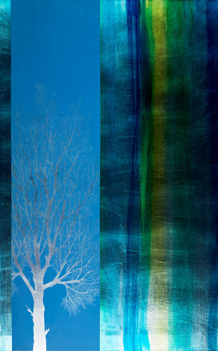 Frozen birch by nakisa seika -  sized 30x48 inches. Available from Whitewall Galleries